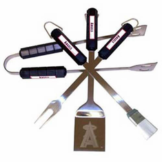 Los Angeles Angels BBQ Grill Utensil Set