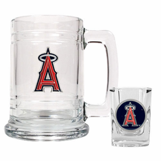 Los Angeles Angels Boilermaker Set