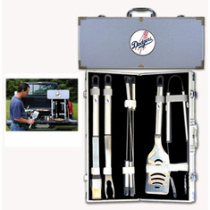 Los Angeles Dodgers 8pc BBQ Set - BACKORDERED