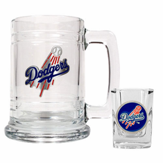 Los Angeles Dodgers Boilermaker Set
