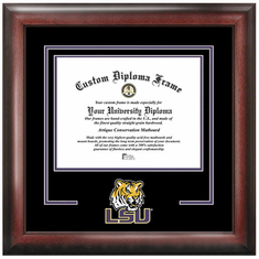 Louisiana State University Spirit Diploma Frame