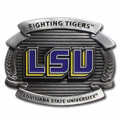 LSU Tigers Oversized Belt Buckle