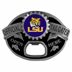 LSU Tigers Tailgater Buckle - BACKORDERED
