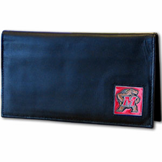 Maryland Leather Checkbook Cover - BACKORDERED