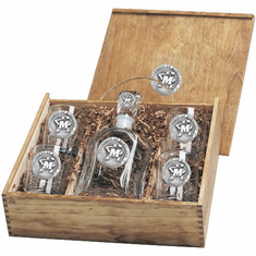 Maryland Terrapins Capital Decanter Box Set