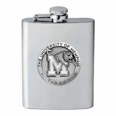 Memphis Tigers Flask