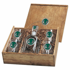 Miami Hurricanes Capital Decanter Box Set