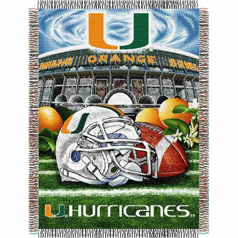 Miami Hurricanes Home Field Advantage Throw