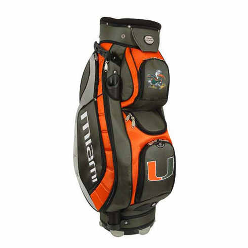 Miami Hurricanes Lettermans Club II Cooler Cart Bag
