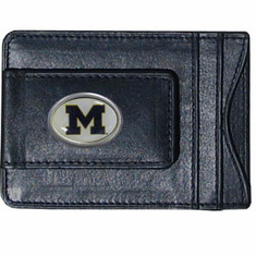 Michigan Leather Cash and Card Holder - BACKORDERED
