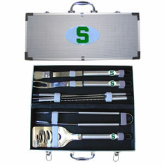 Michigan State Spartans 8pc BBQ Set - BACKORDERED