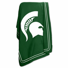 Michigan State Spartans Classic Fleece Blanket