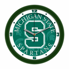 Michigan State Spartans Dimension Wall Clock