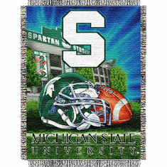 Michigan State Spartans Home Field Advantage Throw