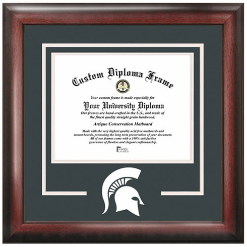 Michigan State University Spirit Diploma Frame