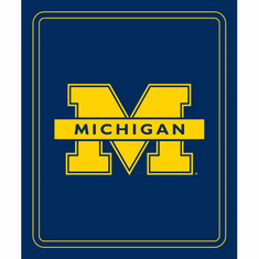 Michigan Wolverines Classic Fleece Blanket - BACKORDERED