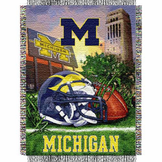 Michigan Wolverines Home Field Advantage Throw
