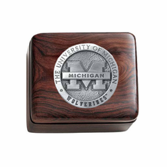 Michigan Wolverines Ironwood Box