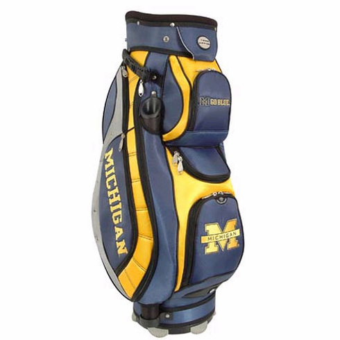 Michigan Wolverines Lettermans Club II Cooler Cart Bag