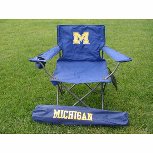Michigan Wolverines Ultimate Adult Tailgate Chair - BACKORDERED