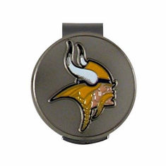 Minnesota Vikings Hat Clip and Ball Marker