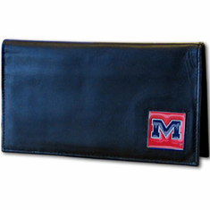 Mississipi Leather Checkbook Cover