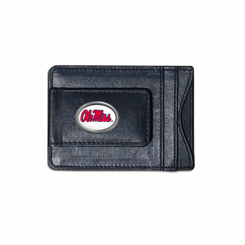 Mississipi State Leather Cash and Card Holder