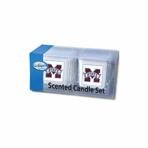 Mississippi State Bulldogs Candle Set