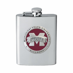 Mississippi State Bulldogs Flask