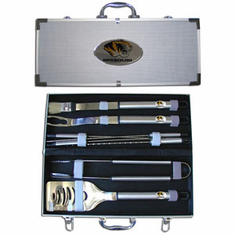 Missouri Tigers 8pc BBQ Set - BACKORDERED