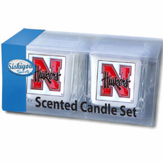 Nebraska Cornhuskers Candle Set