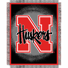 Nebraska Cornhuskers Triple Woven Jacquard Throw