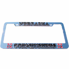Nebraska License Plate Frame