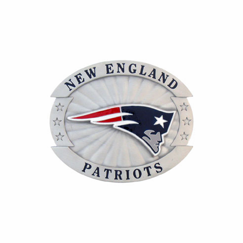 New England Patriots Oversized Belt Buckle