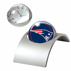 New England Patriots Spinning Desk Clock - BACKORDERED