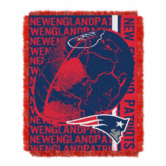 New England Patriots Triple Woven Jacquard Throw