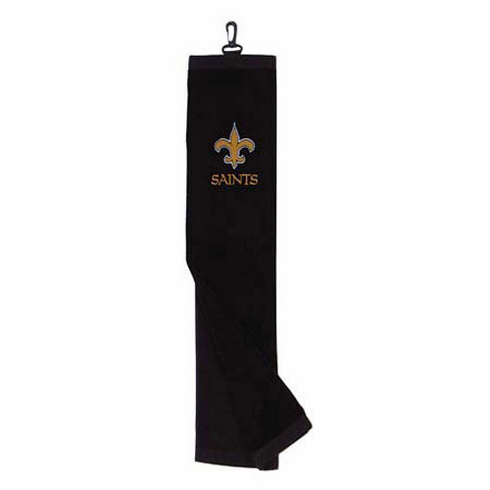New Orleans Saints Embroidered Tri-Fold Golf Towel