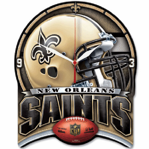 New Orleans Saints High Definition Clock