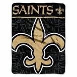New Orleans Saints Micro-Raschel Throw
