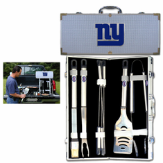 New York Giants 8pc BBQ Set - BACKORDERED