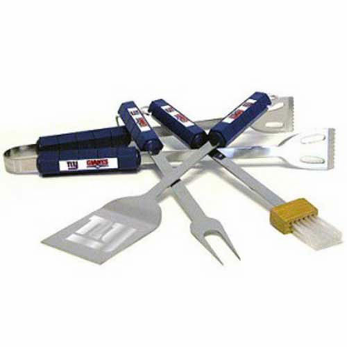 New York Giants BBQ Grill Utensil Set - BACKORDERED