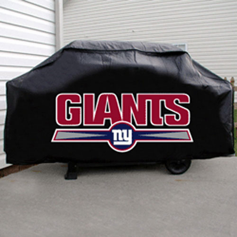New York Giants Deluxe Barbeque Grill Cover - BACKORDERED