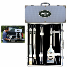 New York Jets 8pc BBQ Set - BACKORDERED
