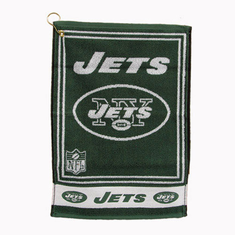 New York Jets Heavyweight Jacquard Golf Towel