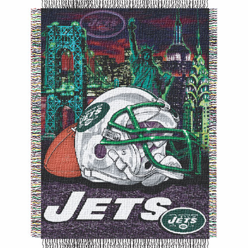 New York Jets Home Field Advantage Throw