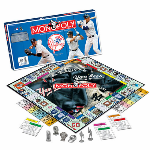 New York Yankees 2006 Collector's Edition Monopoly - BACKORDERED