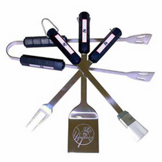 New York Yankees BBQ Grill Utensil Set - BACKORDERED