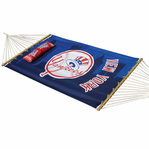 New York Yankees Hammock with Pillow - BACKORDERED