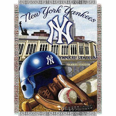 New York Yankees Home Field Advantage Throw