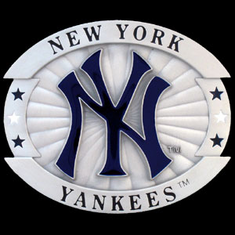 New York Yankees Oversized Belt Buckle